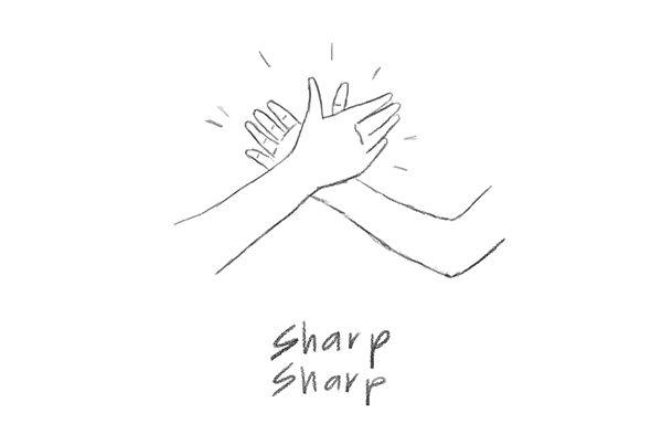 sharp-sharp